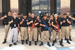 Americas Law Enforcement Club training strong to prepare for competitions