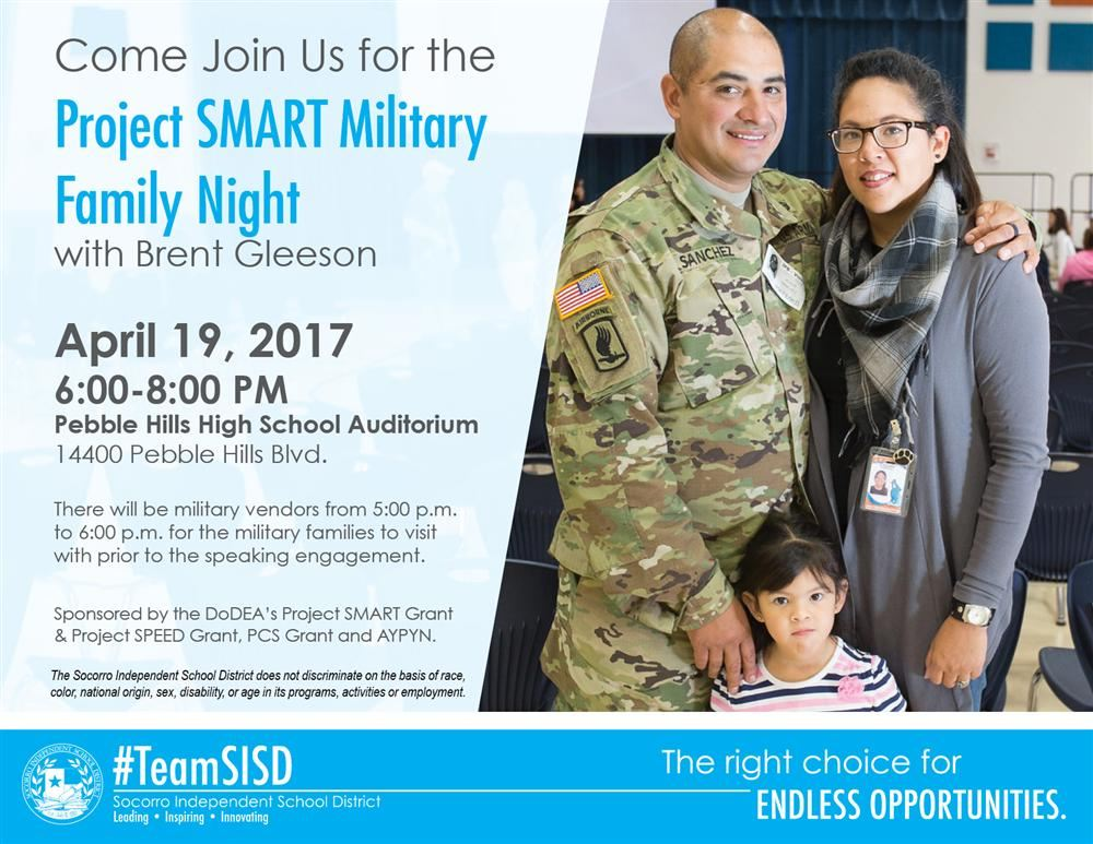 Sisd Supports Military Students With Family Events Resources