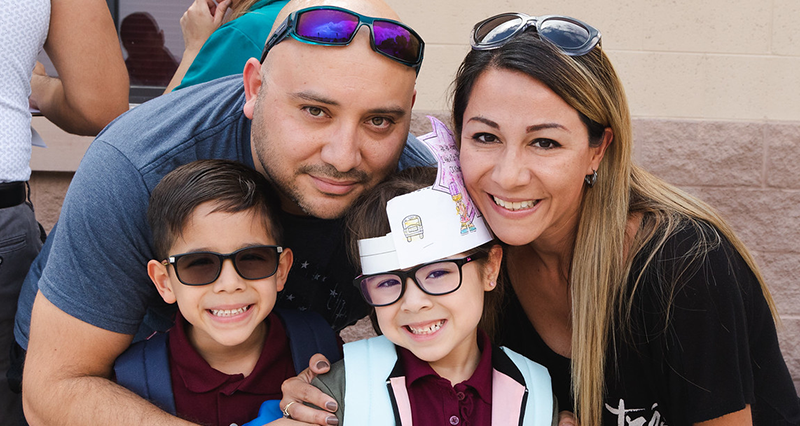 2018 SISD First Day of School Family