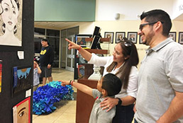 SISD art show highlights students' creativity