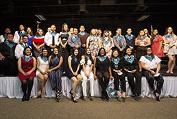 Mission Early College High School students honored for earning EPCC associate's degree