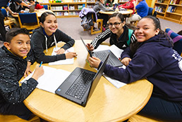 Widespread technology use in Team SISD highlighted on Digital Learning Day
