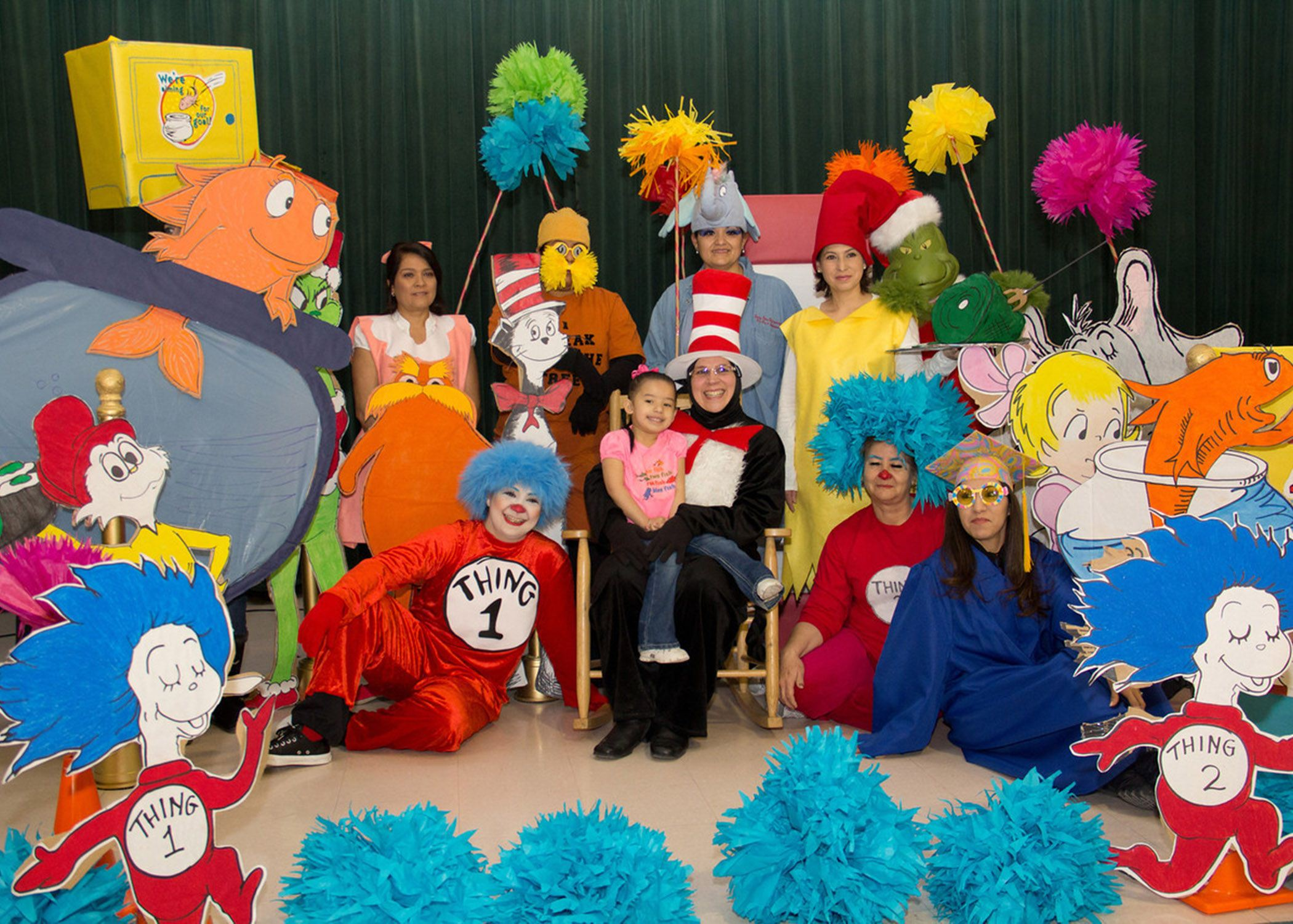 sc 1 st  Socorro Independent School District & Dress-up days Dr. Seuss books complete Read Across America celebrations
