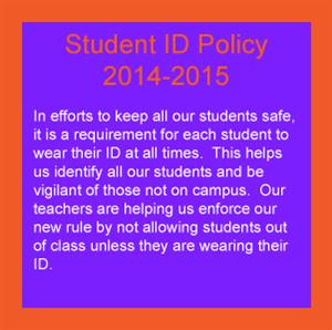 Student ID Policy
