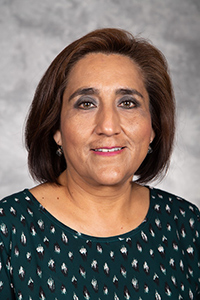 Portrait of Monica Placencia, CNS Supervisor