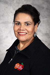 Portrait of Letty Soria, Meal Application Specialist