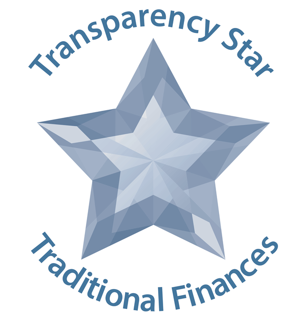 Transparency Star Recognition for Traditional Finances