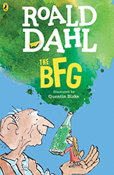 The BFG by Roald Dahl Book Cover