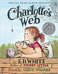 Charlotte's Web by E.B. White Book Cover