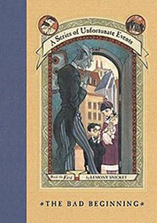 A Series of Unfortunate Events Book Cover