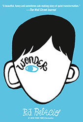 Wonder by RJ Palacio Book Cover