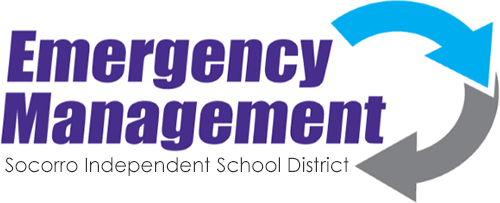 Socorro Independent School District Emergency Management logo
