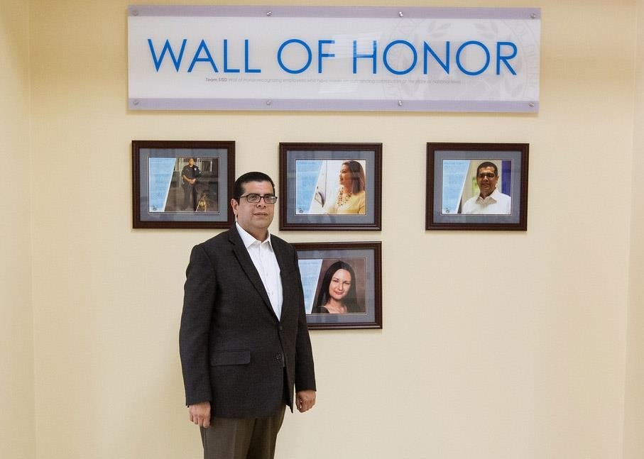 Michael Saenz Wall of Honor