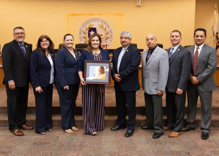 Cristina Nunez and Board of Trustees