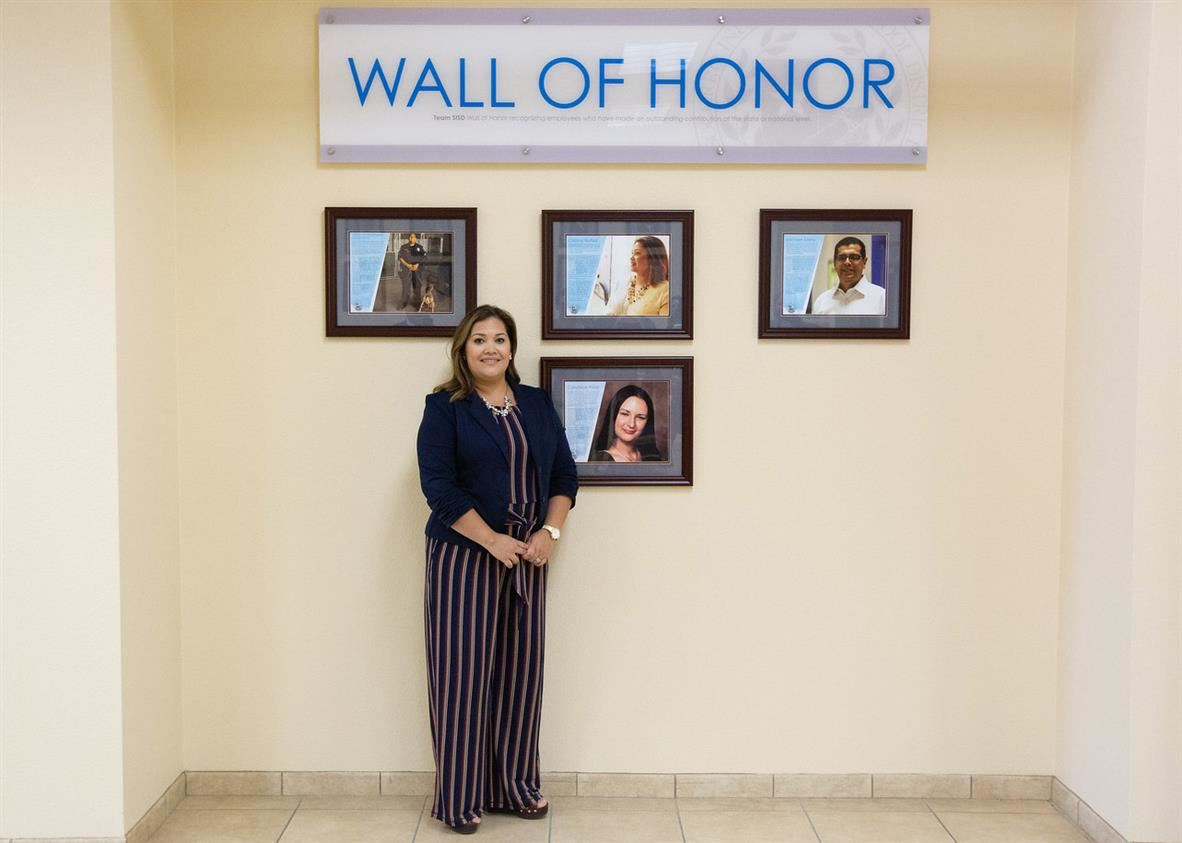 Cristina Nunez Wall of Honor