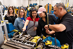 Counselors visit business, industries to learn about workforce opportunities for students