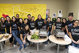 Americas student council provides thank you lunch for Vitalant employees