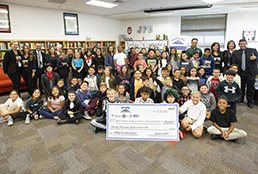 Butler, Carrasco elementary schools receive $20,000 from Socorro AFT for books
