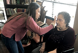 Eastlake cosmetology students volunteer time, skills to nursing home/rehab residents