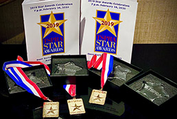 Image of Socorro ISD Public Relations awards