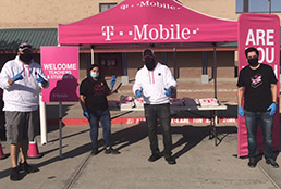 T-Mobile donating headphones to students
