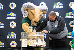 Image of Rams Early College lottery drawing