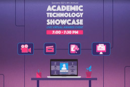 4th Annual Academic Technology Showcase graphic