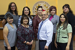 Socorro ISD Purchasing Department team
