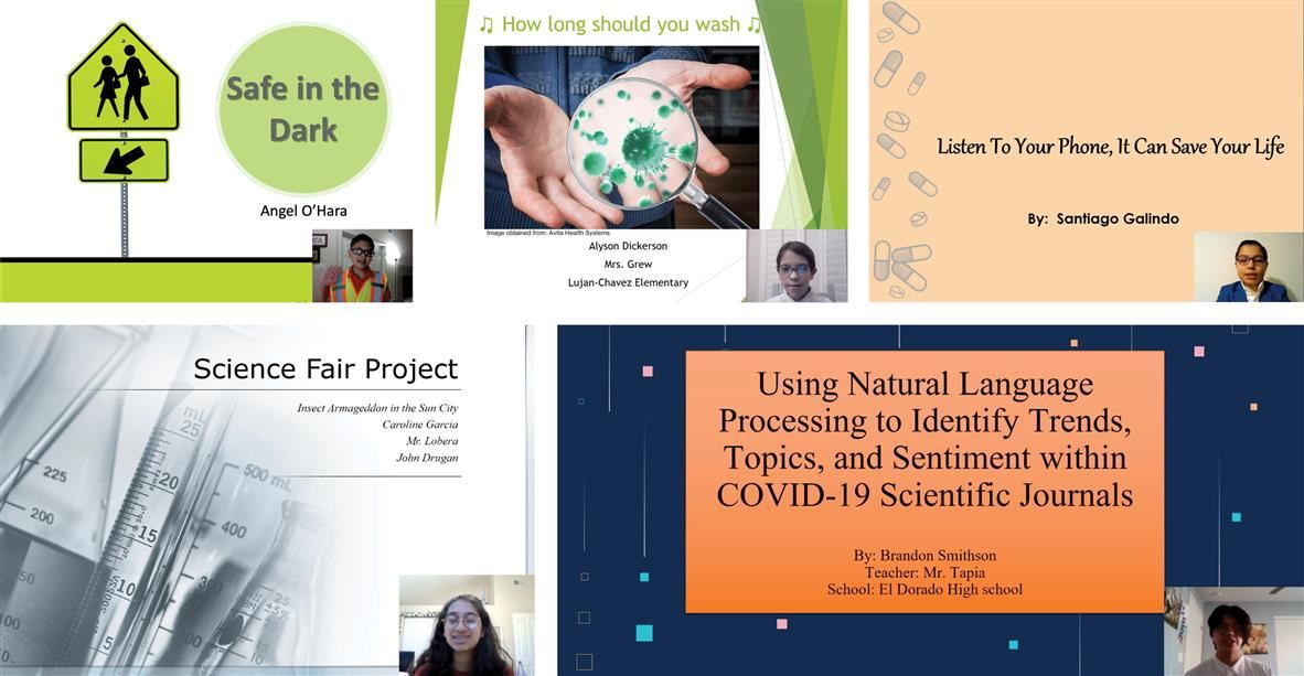 Samples of presentations