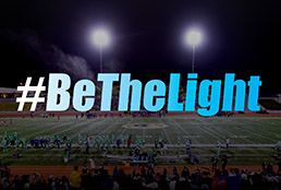 Team SISD to turn on field lights to #BeTheLight for students, community