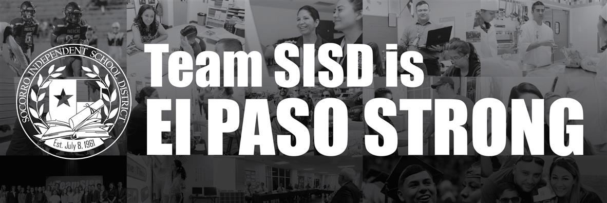 SISD is El Paso Strong graphic