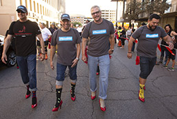 SISD raises more than $23,000, has biggest group for YWCA Walk A Mile in Her Shoes