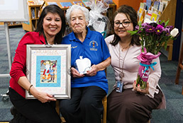 Sierra Vista recognizes volunteer grandparent for 24 years of service