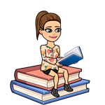 bitmoji reading on books