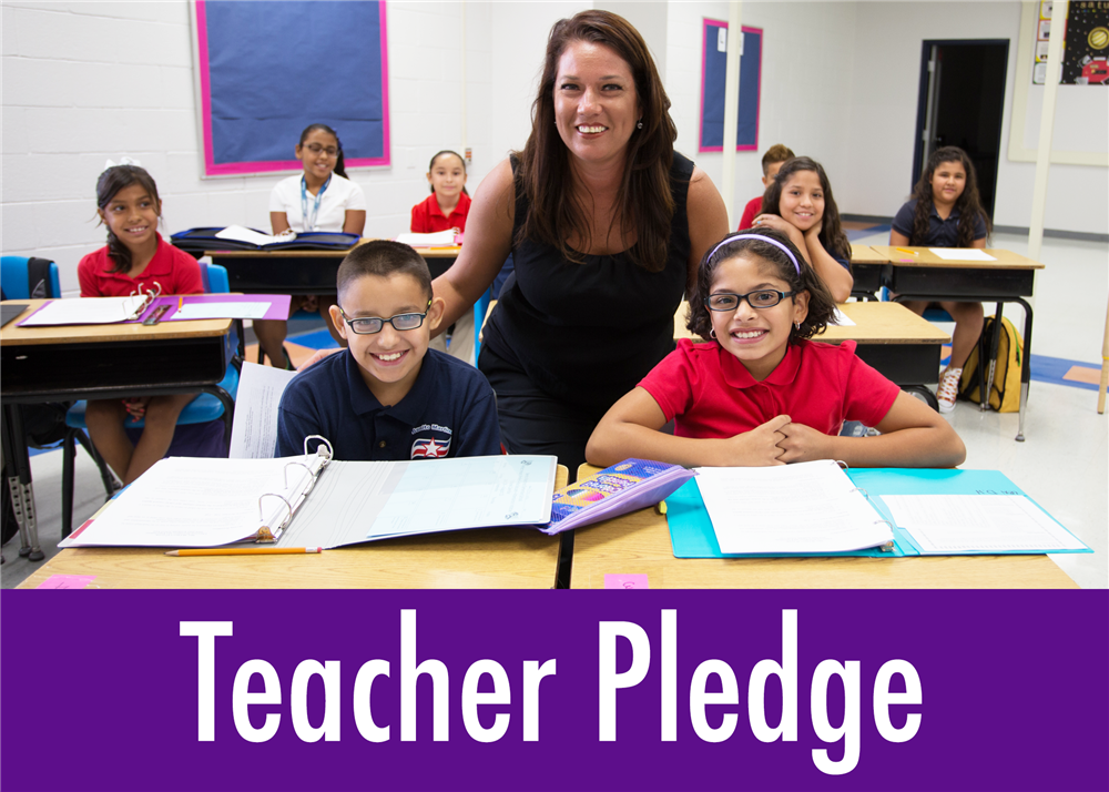 WIN Academy Teacher Pledge Icon