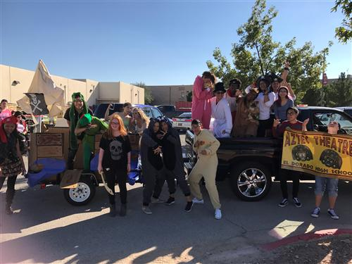 Homecoming 2017 - Faith, Trust, and Pixie Dust!