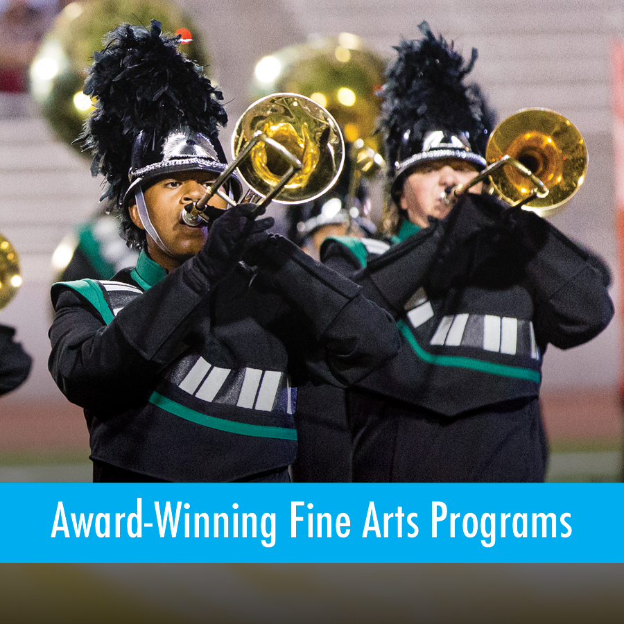 Award-Winning Fine Arts Programs