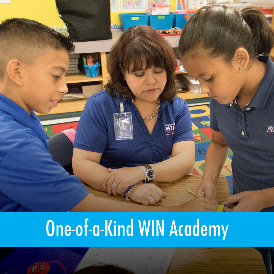 One-of-a-Kind WIN Academy